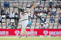 Ravichandran Ashwin, India pulls a short delivery square of the wicket during India vs New Zealand, ICC World Test Championship Final Cricket at The Hampshire Bowl on 23rd June 2021