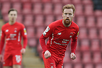 James Brophy of Leyton Orient during Leyton Orient vs Oldham Athletic, Sky Bet EFL League 2 Football at The Breyer Group Stadium on 27th March 2021