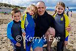 Enjoying Banna beach on Sunday, l to r: Seamus, Orla, Roisin and Alan Lyons.