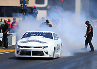 Jul 30, 2017; Sonoma, CA, USA; NHRA pro stock driver Bo Butner during the Sonoma Nationals at Sonoma Raceway. Mandatory Credit: Mark J. Rebilas-USA TODAY Sports