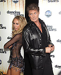 "David Hasselhoff and Kym Johnson  at Dancing with the Stars ""Season 11 Premiere"" at CBS on September 20, 2010 in Los Angeles, California on September 20,2010                                                                               © 2010 Hollywood Press Agency"
