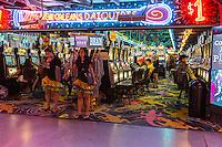 Las Vegas, Nevada.  Fremont Street Casino.