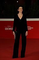 "Actress Elena Lietti poses on the 16th International Rome Film Fest (Festa del Cinema di Roma) red carpet for the movie of the film ""L'Arminuta"" on October 15, 2021 at the Auditorium Parco della Musica in Rome.<br /> UPDATE IMAGES PRESS/Isabella Bonotto"