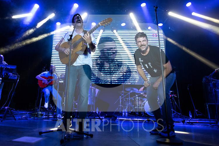 José and David Manuel Muñoz Calvo during the concert of VODAFONE YU MUSIC SHOWS<br /> ESTOPA. <br /> <br /> October 2, 2019. (ALTERPHOTOS/David Jar)
