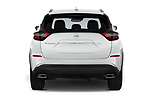 Straight rear view of 2020 Nissan Murano SV 5 Door SUV Rear View  stock images