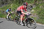 Polka Dot Jersey Tadej Pogacar (SLO) UAE Team Emirates during Stage 6 of the Itzulia Basque Country 2021, running 111.9km from Ondarroa to Arrate, Spain. 10th April 2021.  <br /> Picture: Luis Angel Gomez/Photogomezsport | Cyclefile<br /> <br /> All photos usage must carry mandatory copyright credit (© Cyclefile | Luis Angel Gomez/Photogomezsport)