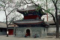 China, Peking, Trommelturm des Guang-Ji -Si Tempel