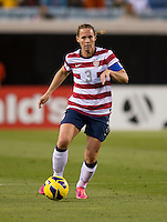 Christie Rampone.  The USWNT defeated Scotland, 4-1, during a friendly at EverBank Field in Jacksonville, Florida.