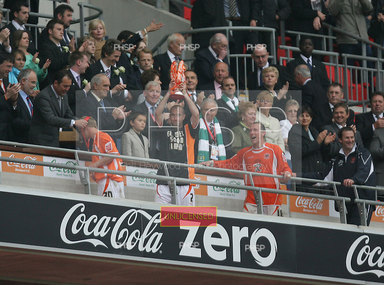 Blackpool v Yeovil Coca Cola League 1 Play Off Final Wembley Stadium 27-05-07.Pic © Phill Heywood