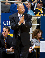 11 November 2009:  Detroit head coach Ray McCallum is pictured during the game against California at Haas Pavilion in Berkeley, California.   California defeated Detroit, 95-61.