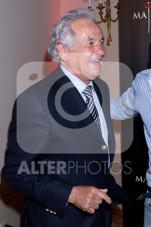 """17.05.2012. BIO television channel presented the documentary series """"Slayers"""" in the Wellington Hotel in Madrid. In the picture: Sebastian Palomo Linares (Alterphotos/Marta Gonzalez)"""