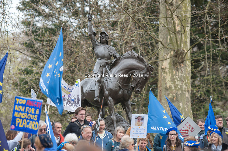 """Battle cry - The """"Put it to the People"""" rally makes it's way through central London today. Demonstrators from across the country gathered to call for a second referendum on Brexit and to march through the UK capital finishing with speeches in Parliament Square opposite the Houses of Parliament in Westminster."""