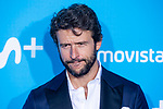 Diego Martin attends to blue carpet of presentation of new schedule of Movistar+ at Queen Sofia Museum in Madrid, Spain. September 12, 2018. (ALTERPHOTOS/Borja B.Hojas)