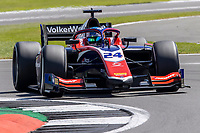 16th July 2021; Silverstone Circuit, Silverstone, Northamptonshire, England; F2 British Grand Prix, Free Practice; Bent Viscaal in his Trident Dallara F2 2018