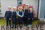The Juniors at Gaelscoil Naomh Séamas, Douglas, Killorglin (formerly Douglas NS)<br /> L-R Margaret,Olivia, Hetty, Bernie & Jaden.