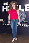12.09,2012. Celebrities attend the presentation of the new season of  'The Hole' in Theater Caser Calderon of Madrid, with La Terremoto de Alcorcon and Alex O'Dogherty. In the image Cuqui Fernandez (Alterphotos/Marta Gonzalez)