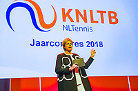 Nieuwegein,  Netherlands, 24 November 2018, KNLTB Year congress KNLTB, Princess Laurentien<br /> Photo: Tennisimages.com/Henk Koster