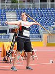 Renee Foessel, Toronto 2015 - Para Athletics // Para-athlétisme.<br /> Renee Foessel competes in the women's javeline throw F37/38 Final // Renee Foessel participe à la finale du lancer du javelot féminin F37 / 38. 11/08/2015.