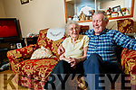 Patrick Cassidy who had a Cataract operation in Belfast on Sunday pictured with his wife Betty.