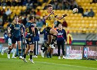 30th April 2021; Wellington, New Zealand;  Hurricanes Jordie Barrett.  Hurricanes versus  Highlanders, Super Rugby, Sky Stadium, Wellington New Zealand, Friday 30 April 2021.