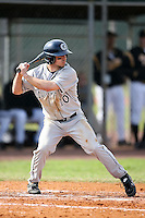 February 22, 2009:  Outfielder Tommy Lee (10) of Georgetown University  during the Big East-Big Ten Challenge at Naimoli Complex in St. Petersburg, FL.  Photo by:  Mike Janes/Four Seam Images