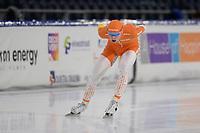 SCHAATSEN: HEERENVEEN: 10-10-2020, KNSB Trainingswedstrijd, Jordy Harink, ©foto Martin de Jong