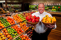 New Bloom Produce Manager Peter Rubin.