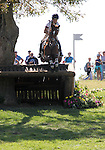 Pippa Funnell and Redesigned of Great Britain compete in the cross country phase of the FEI  World Eventing Championship at the Alltech World Equestrian Games in Lexington, Kentucky.