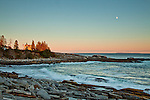 Evening at Pemaquid Point Light, Bristol, ME, USA