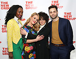 Zurin Villanueva, Katie Goffman, Amy Heckerling and Justin Mortelliti during the New Group Annual Gala at Tribeca Rooftop on March 11, 2019 in New York City.