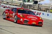 #62 (GT2) Risi Competizione Ferrari 430 GT, Jamie Melo, Glanmaria Bruni & Pierre Kaffer