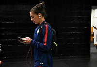 Jacksonville, FL - Thursday April 5, 2018: Carli Lloyd during an International friendly match versus the women's National teams of the United States (USA) and Mexico (MEX) at EverBank Field.