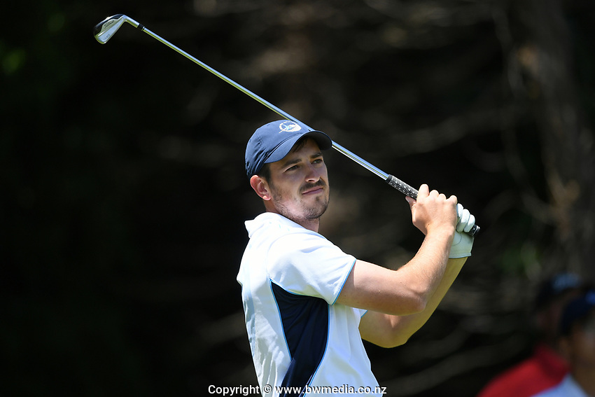 Johnny Tynan, Auckland, 2019 New Zealand Men's Interprovincials, Hastings Golf Club, Hawke's Bay, New Zealand, Tuesday 26th November, 2019. Photo: Kerry Marshall/www.bwmedia.co.nz