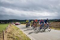 breakaway group<br /> <br /> 106th Liège-Bastogne-Liège 2020 (1.UWT)<br /> 1 day race from Liège to Liège (257km)<br /> <br /> ©kramon