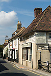 Cobham Kent. UK. Charles Dickens used the pub the Leather Bottle in this Kenntish village and incorporated village life as seen by him here, into some of his novels.