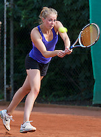 August 13, 2014, Netherlands, Raalte, TV Ramele, Tennis, National Championships, NRTK,  Sarah de Boer (NED)<br /> Photo: Tennisimages/Henk Koster