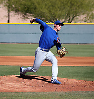 Riley Thompson - Chicago Cubs 2019 spring training (Bill Mitchell)
