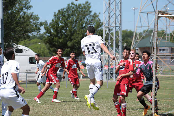 DALLAS, TX - May 3:  Alianza at Trinity <br /> View Park in Dallas on May 3, 2015 in Dallas, TX (Photo by Rick Yeatts)