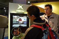 - SMAU, international exibition of electronics, computer science and technological innovation, videogame Microsoft X box..- SMAU, salone internazionale dell'elettronica, informatica e innovazione tecnologica, videogioco Microsoft X box