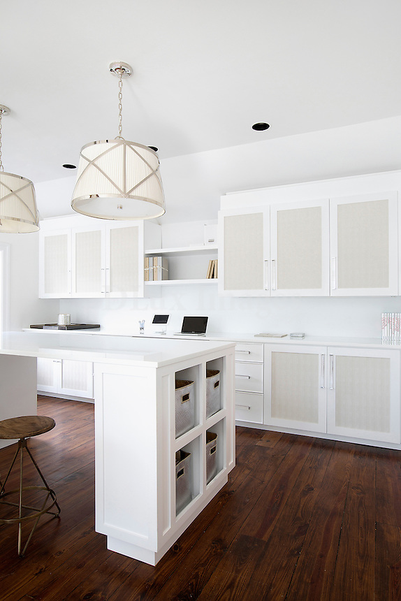 modern white kitchen Get A Room is a boutique in Scarsdale New York for interior design.