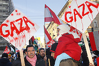 - demonstration against the attack of Israel to the Gaza Strip....- manifestazione contro l'attacco di Israele alla striscia di Gaza