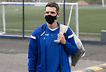 St Johnstone v Livingston…15.05.21  SPFL McDiarmid Park<br />Craig Bryson arrives at McDiarmid Park for the final league game of the season<br />Picture by Graeme Hart.<br />Copyright Perthshire Picture Agency<br />Tel: 01738 623350  Mobile: 07990 594431