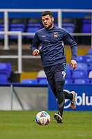 20th February 2021; St Andrews Stadium, Coventry, West Midlands, England; English Football League Championship Football, Coventry City v Brentford; Emiliano Marcondes of Brentford warms-up prior to the match