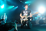 Blink 182 performs live in at The Hollywood Palladium in Hollywood, California on October 10,2009                                                                   Copyright 2009 DVS / RockinExposures