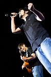 02.06.2012. Estopa performs during in the ´Cadena 100´ 20 th anniversary Concert at the stadium Vicente Calderon in Madrid. In the image: Estopa  (Alterphotos/Marta Gonzalez)