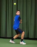 March 8, 2015, Netherlands, Rotterdam, TC Victoria, NOJK, Freek van Donselaar (NED)<br /> Photo: Tennisimages/Henk Koster