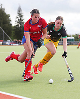 Holly Pearson (L). Falcons v Alpiners. Sentinel Homes Hockey Women's Premier League Waikato Hockey, Hamilton, New Zealand. Thursday 26 November 2020. Photo: Simon Watts/www.bwmedia.co.nz/HockeyNZ