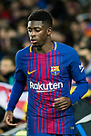 Ousmane Dembele of FC Barcelona reacts during the Copa Del Rey 2017-18 Round of 16 (2nd leg) match between FC Barcelona and RC Celta de Vigo at Camp Nou on 11 January 2018 in Barcelona, Spain. Photo by Vicens Gimenez / Power Sport Images