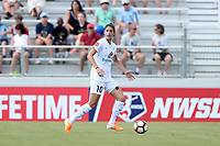 Cary, North Carolina  - Saturday June 03, 2017: Yael Averbuch during a regular season National Women's Soccer League (NWSL) match between the North Carolina Courage and the FC Kansas City at Sahlen's Stadium at WakeMed Soccer Park. The Courage won the game 2-0.