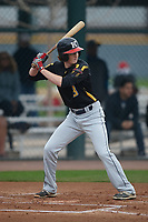 Kenton Clayton (3) of Martin Luther King High School in Riverside, California during the Under Armour All-American Pre-Season Tournament presented by Baseball Factory on January 14, 2017 at Sloan Park in Mesa, Arizona.  (Kevin C. Cox/MJP/Four Seam Images)